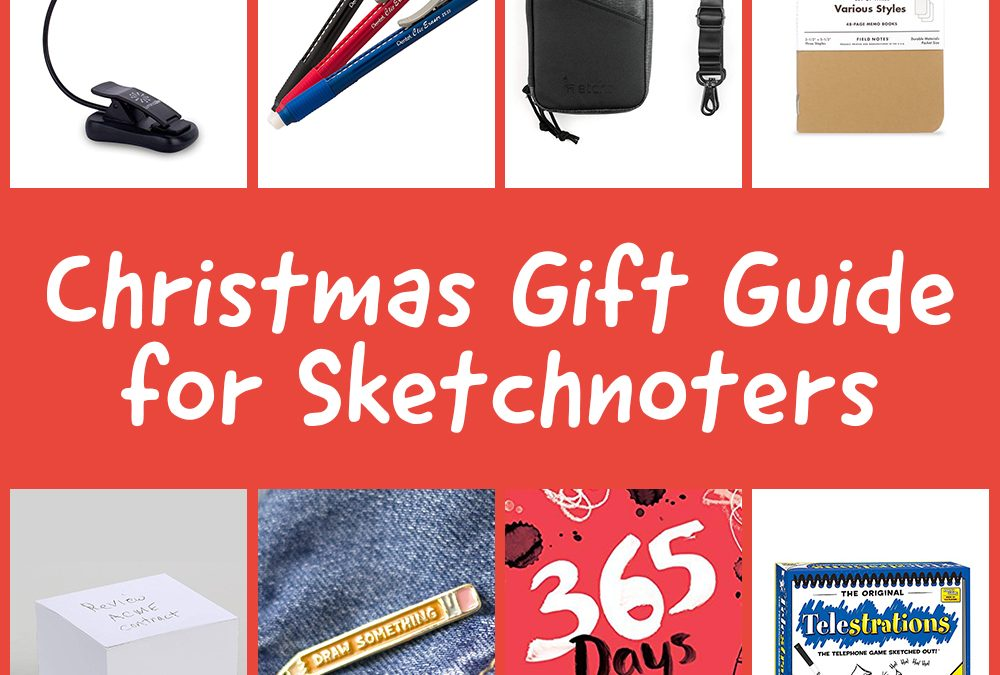 Christmas Gift Guide for Sketchnoters